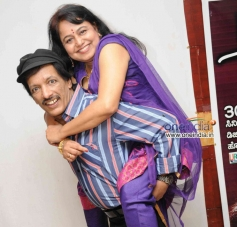 Kashinath and Abhinaya at Anubhava Film Press Meet