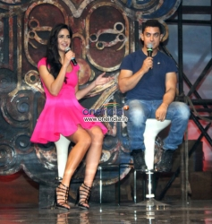 Katrina Kaif and Aamir Khan's film Dhoom 3 Title song launch
