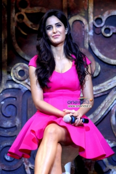 Katrina Kaif during Dhoom Machale Dhoom song launch