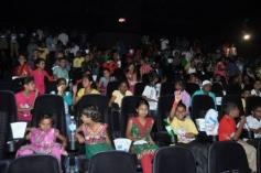 Kids present at the special screening of Krrish 3 film