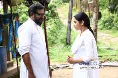 Lal and Mia George in Malayalam Movie Vishudhan