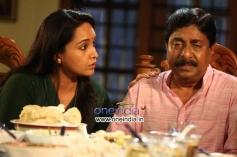 Lena and Sreenivasan in Malayalam Movie Weeping Boy