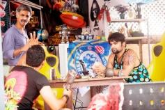 Makrand Deshpande, Bharath and Sachiin Joshi still from film Jackpot
