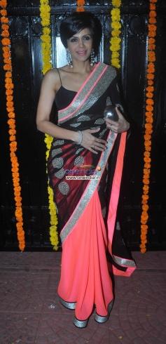 Mandira Bedi at Ekta Kapoor's Diwali Bash 2013