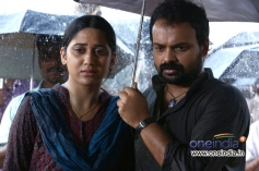 Mia George and Kunchako Boban in Malayalam Movie Vishudhan