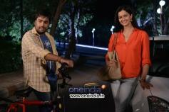 Nara Rohit and Shubra Aiyappa in Pratinidhi Movie