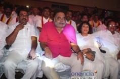 Narayana Gowda, Ambareesh, Jayanthi, Ganga Raju at Smuggler Film Audio Release