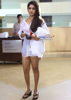 Nayantara in Telugu Movie Aata Arambham