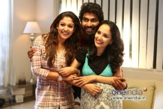 Nayantara, Rana Daggubati in Telugu Movie Aata Arambham