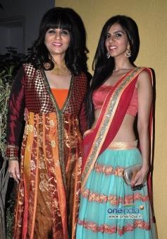 Neeta Lulla and Nishka Lulla at Sachiin Joshi & Urvashi Sharma's Diwali Bash 2013