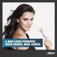 Neha Dhupia and Chitrangda Singh's Print Ads for Gillette Venus razor for Women