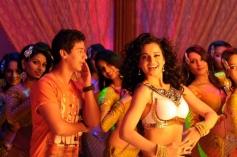 Paras Arora and Kangna Ranaut still from film Rajjo