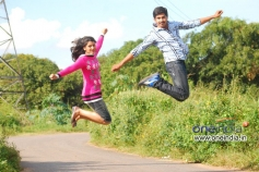Pooja and Virat in Kannada Film 24 Karat