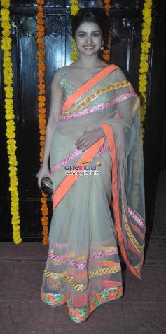 Prachi Desai at Ekta Kapoor's Diwali Bash 2013