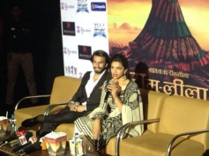 Press conference of Ram Leela film at Delhi