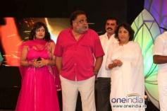 Priya Hassan, Ambareesh, Jayanthi at Smuggler Film Audio Release