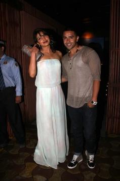 Priyanka Chopra attends Jay Sean's private dinner