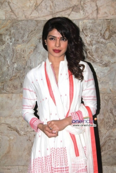 Priyanka Chopra during the film Ram Leela special screening