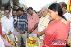 Puneeth Rajkumar, S. A. Chinne Gowda, Jayamala at Film Chamber Celebrates Karnataka Rajyotsava