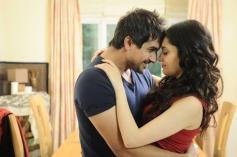Pushkar Jog and Armeena Rana Khan still from film Huff! - It's Too Much
