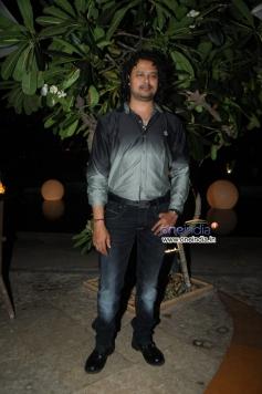 Raja Hassan at French Kiss music album