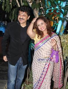 Rajesh Khattar and Vandana Sajnani  at Sachiin Joshi & Urvashi Sharma's Diwali Bash 2013