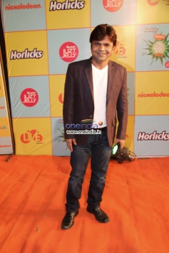 Rajpal Yadav at Nickelodeon Kids Choice Awards 2013
