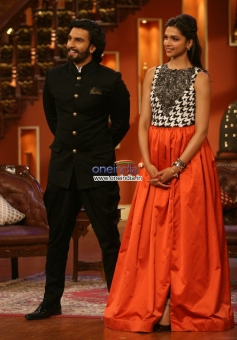 Ram Leela film promotion on the sets of Comedy Nights with Kapil
