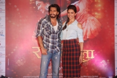 Ram Leela promotions at Infiniti Mall 2 in Malad