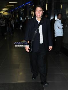 Randhir Kapoor snapped at Mumbai airport