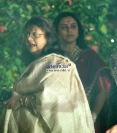 Rani Mukerji present at Aditya Chopra Diwali Bash 2013