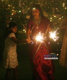Rani Mukerji's Diwali Bash 2013
