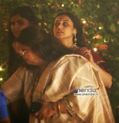 Rani Mukerji snapped at Aditya Chopra residence