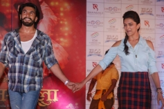 Ranveer and Deepika promotes Ram Leela film at Infiniti Mall 2 in Malad