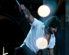Ranveer Singh action still from film Ram Leela