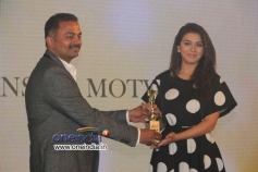 Actress Hansika Motwani at RITZ Icon Awards