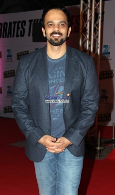 Rohit Shetty at Zee TV's success party for film Chennai Express