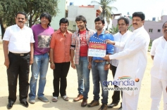 S. Narayan, Akshay, Sumanth Shailendra at Bettanagere Film Launch