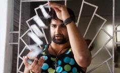 Sachiin Joshi's film Jackpot still