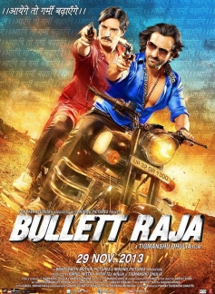 Saif and Jimmy Shergill film Bullet Raja poster