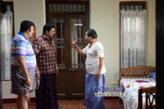 Saikumar, Mukesh, Innocent in Mannar Mathai Speaking 2