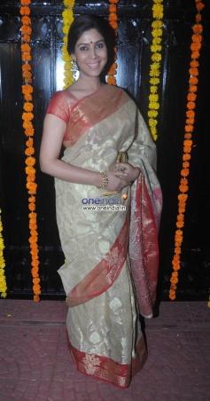 Sakshi Tanwar at Ekta Kapoor's Diwali Bash 2013