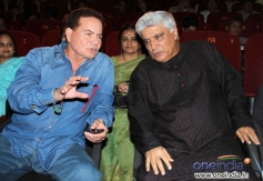 Salim Khan coversation with Javed Akhtar at Sholay 3D film trailer launch