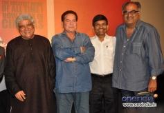 Salim Khan, Javed Akhtar and Boney Kapoor Sholay 3D film trailer launch