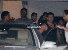 Salman Khan at Sohail Khan Diwali Bash 2013