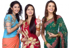 Sana Khan featured in Saravana Stores ad