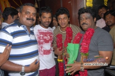 Sathish Ninasam, Shivrajkumar, Jaggesh at Petromax Film Launch