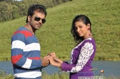 Sathish Ninasam and Subhiksha in Anjada Gandu