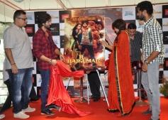 Shahid Kapoor and Sonakshi Sinha along with Prabhu Deva unveiled the R Rajkumar comic series