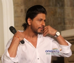 Shahrukh Khan during the press meet on his birthday